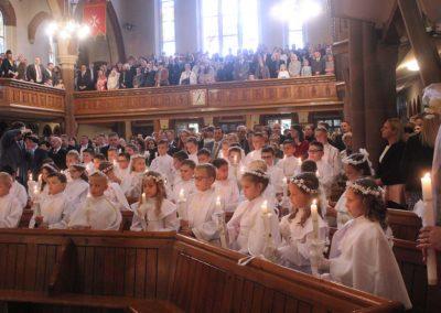 Pierwsza Komunia w Parafii Chrystusa Króla w Londynie Balham