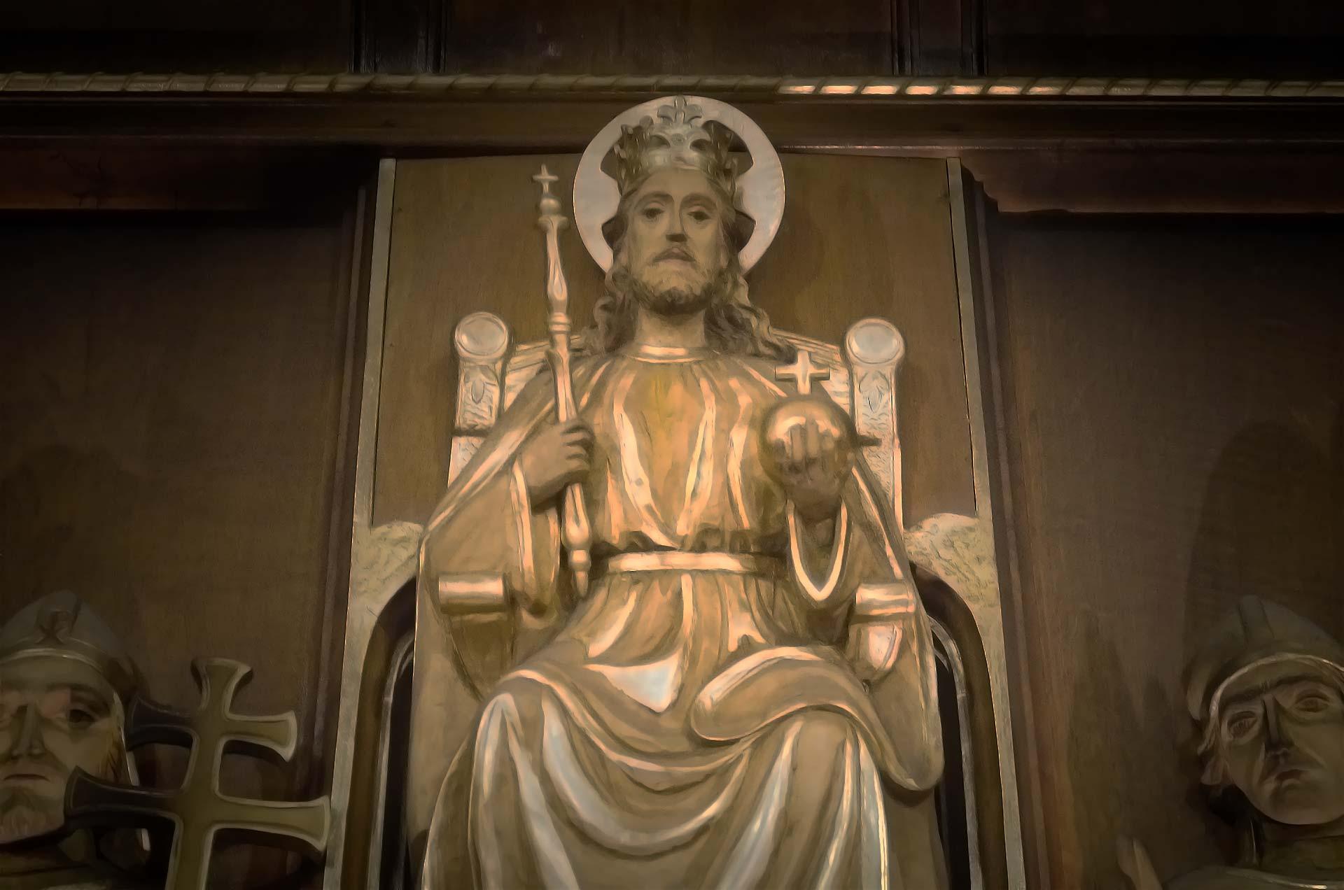 Ołtarz Chrystusa Króla - Polska Parafia Londyn Balham