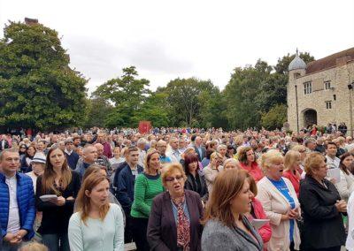 Coroczna Pielgrzymka Polaków do Sanktuarium Matki Bożej Szkaplerznej w Aylesford - zdjęcie 5